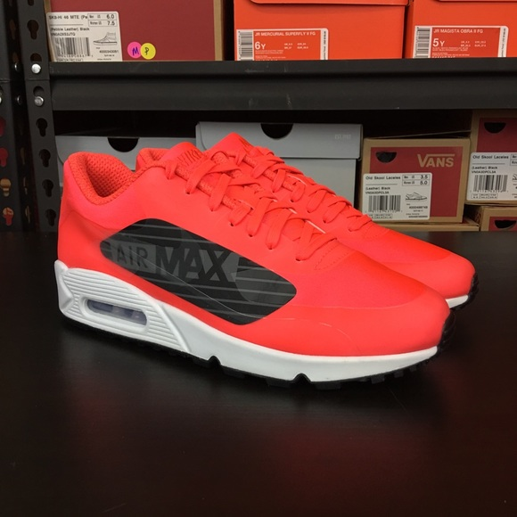 big sale ee17d 63480 Nike Air Max 90 NS GPX Bright Crimson Black Men s